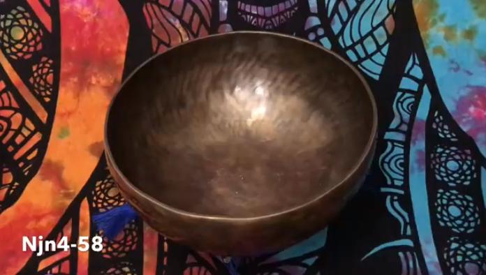 Тибетская поющая чаша (Njn4-58)