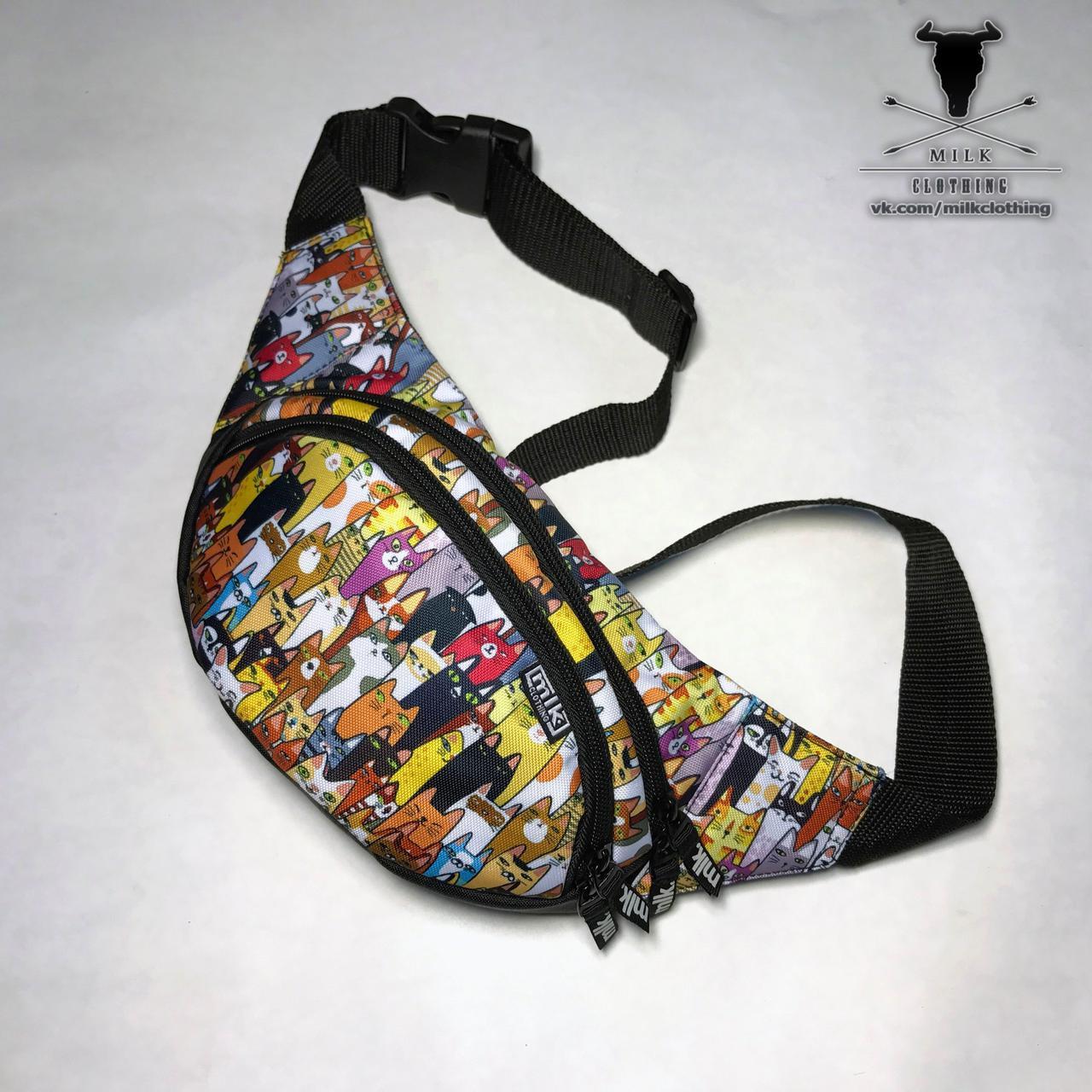 d673b713e4bd Красивая поясная сумка бананка Milk flamingo заказ, цены в Украине ...