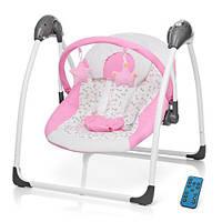 Кресло-качеля Bambi SG111 от сети pink