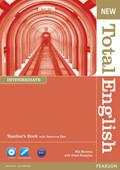 Total English New Intermediate Teacher's Book+CD-Rom