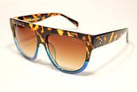 Celine №1 коричневі сонцезахисні окуляри