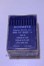 Игла для кожи Schmetz 134 S 90/14 , машинные, с режущим острием, 1 игла , фото 2