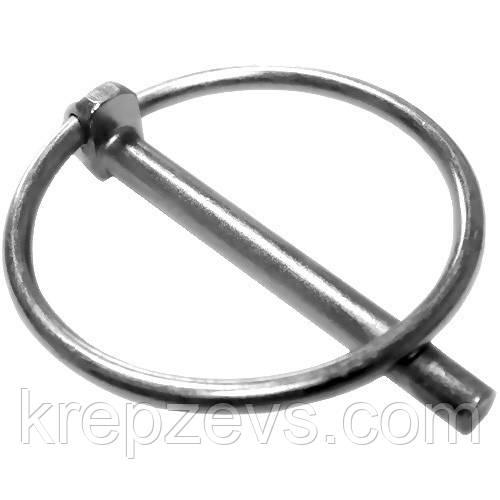 Шплинт Ф11 DIN 11023 с кольцом