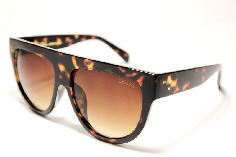 Celine №2 коричневые солнцезащитные очки
