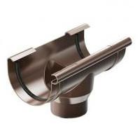 Воронка водосборная ProAqua 125/90 мм.,  коричневая