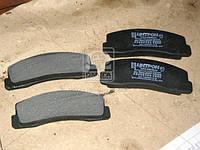 Колодка гальмівна передня безасб. (компл. 4шт.) ВАЗ 2121 (вир-во Цитрон)