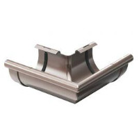 Угол  наружный 135° жёлоба ProAqua 125 мм., коричневый