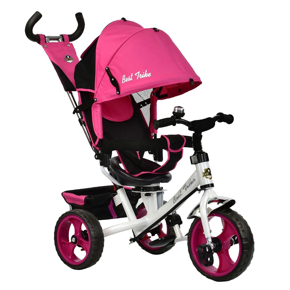 Bелосипед трехколесный  Best Trike 6570 колеса пена Розовый 58906