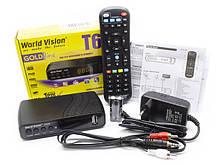 Цифровой эфирный Т2 приемник World Vision T62N