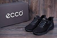 Мужские кожаные кроссовки Ecco biom NS нубук