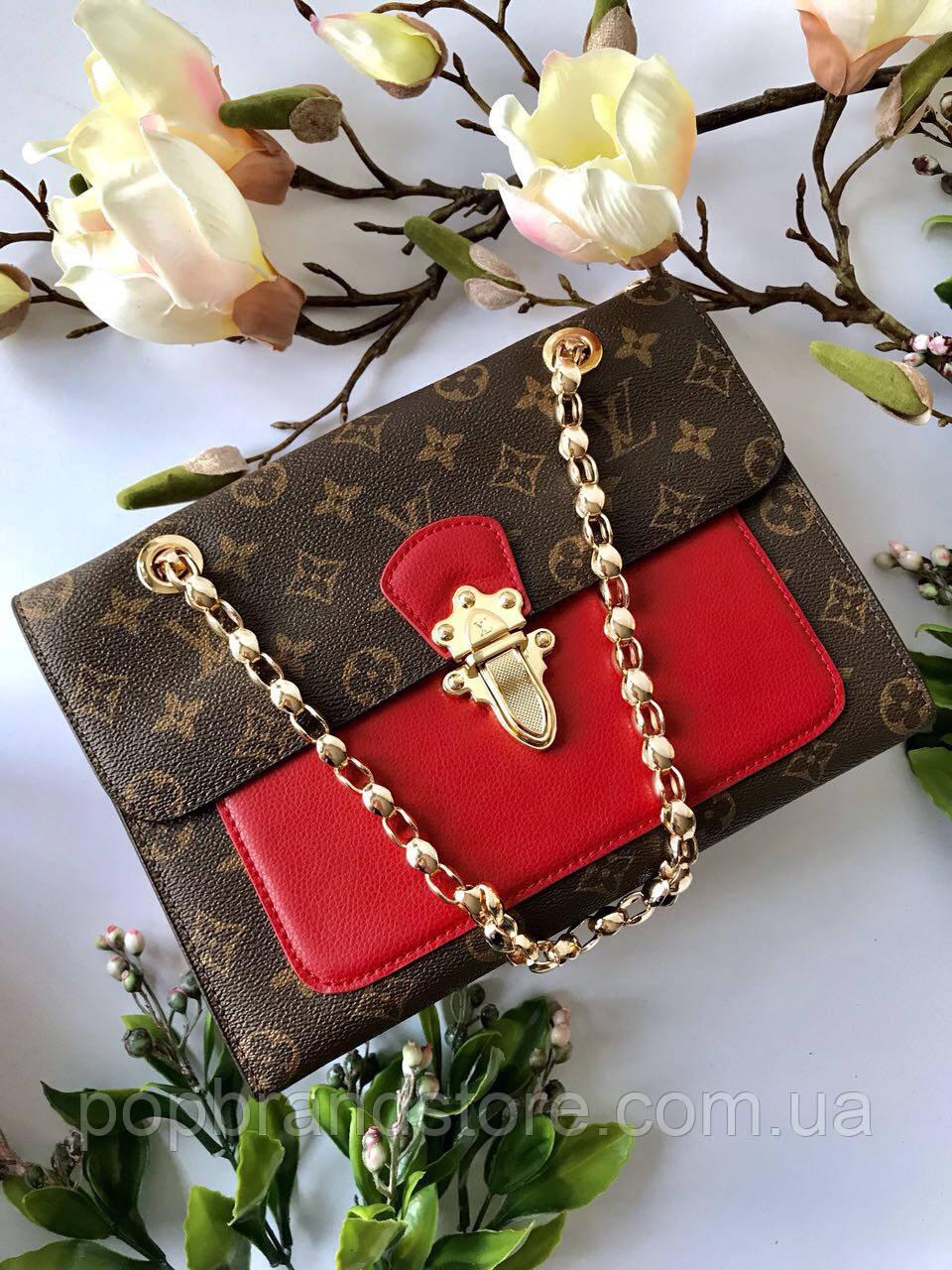 4e84153983ad Женская сумочка LOUIS VUITTON Victoire (реплика) - Pop Brand Store    брендовые сумки,