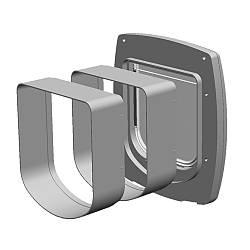 Модульний розширювальний тунель Ferplast (Ферпласт) для дверей SWING 3/5 EXTENSION