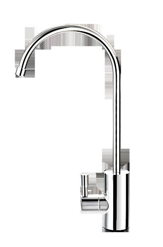 """Кран одинарный """"Модерн"""" хром к фильтрам для питьевой воды"""