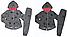 Трикотажный костюм-двойка для девочек , Венгрия, S&D, 98,110 рр., арт.CH-3679 ,, фото 4
