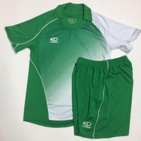 Футбольная форма Europaw (зелено-белая) 007-17