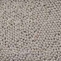 """Посыпка """"Шарики серебряные 3мм""""от 100г. Галетте - 01322"""