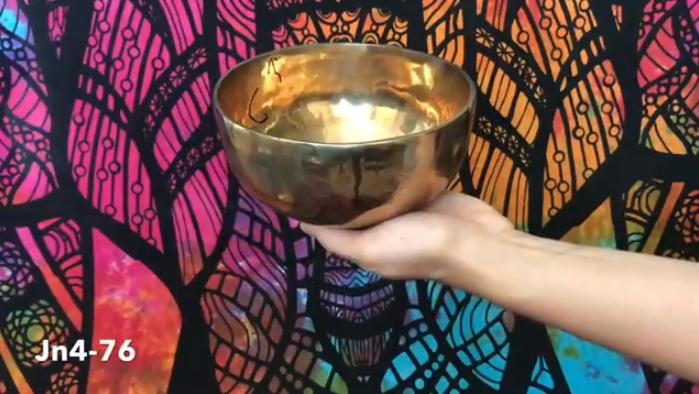 Тибетская поющая чаша (Jn4-76)