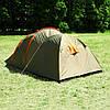 Палатка Abarqs Stella-3,тамбур,зеленая, фото 4