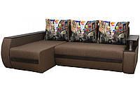 """Кутовий диван """"Граф"""" тканина Хілтон, фото 1"""