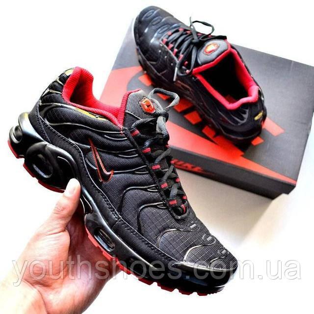 43c7c7b4 Кроссовки мужские Nike Air Max 95 TN Plus Black/Red