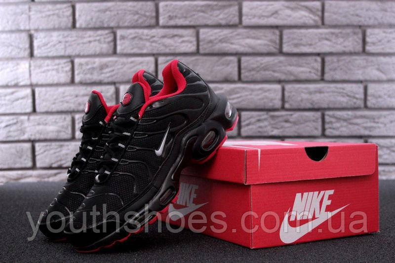 hot sale online 612c7 8ef9d Кроссовки мужские Nike Air Max 95 TN Plus Black/Red