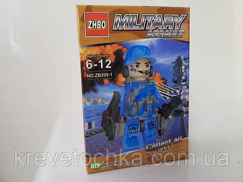 Лего военный спецназ assault military zb209, фото 2