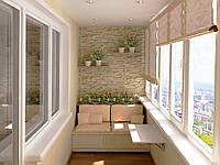 Остекление балконов лоджий Rehau 70 с монтажом и доставкой