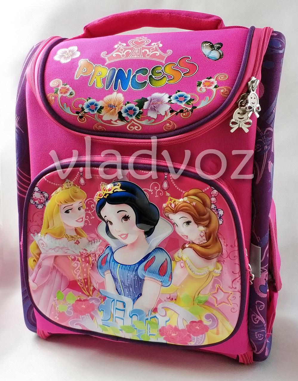 ce179274b215 Школьный Каркасный Рюкзак для Девочек Малиновый Принцессы — в ...