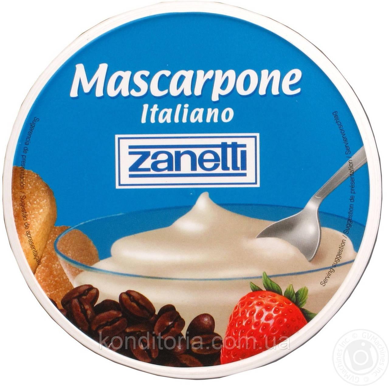 Сир Маскарпоне Zanetti