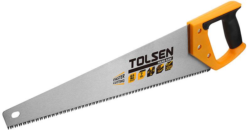 Ножовка по дереву Tolsen 450 мм 7 з/д