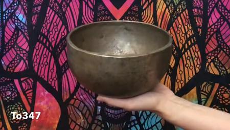 Тибетская поющая чаша Тадобати (To347)