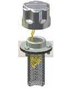Фільтр-сапун з заливною горловиною TA80B10A0L2P01 з вушками для замку MPFiltri Ціна вказана з ПДВ