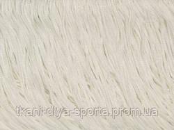Бахрома стрейч Chrisanne белая 15 см (white)