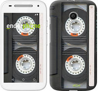 "Чехол на Motorola Moto E Кассета ""876u-373"""