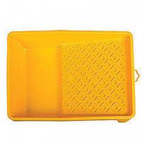 """Ванночка малярная пластиковая 5"""" HARDY 37x34см желтая"""