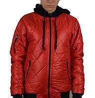 Куртка-стеганка подросток(36-42),капюшон на флисе