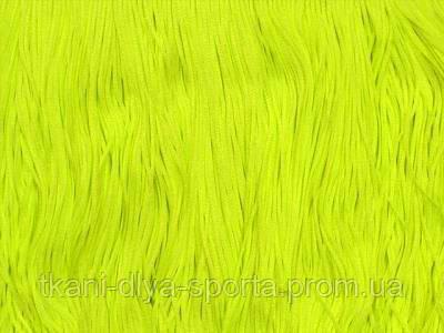 Бахрома стрейч Chrisanne ярко-лимонная fluo 15 см (tropic lime)
