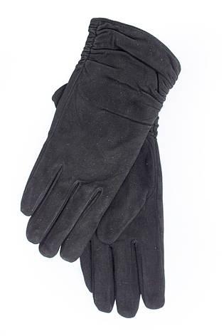 Женские замшевые перчатки  740s3, фото 2