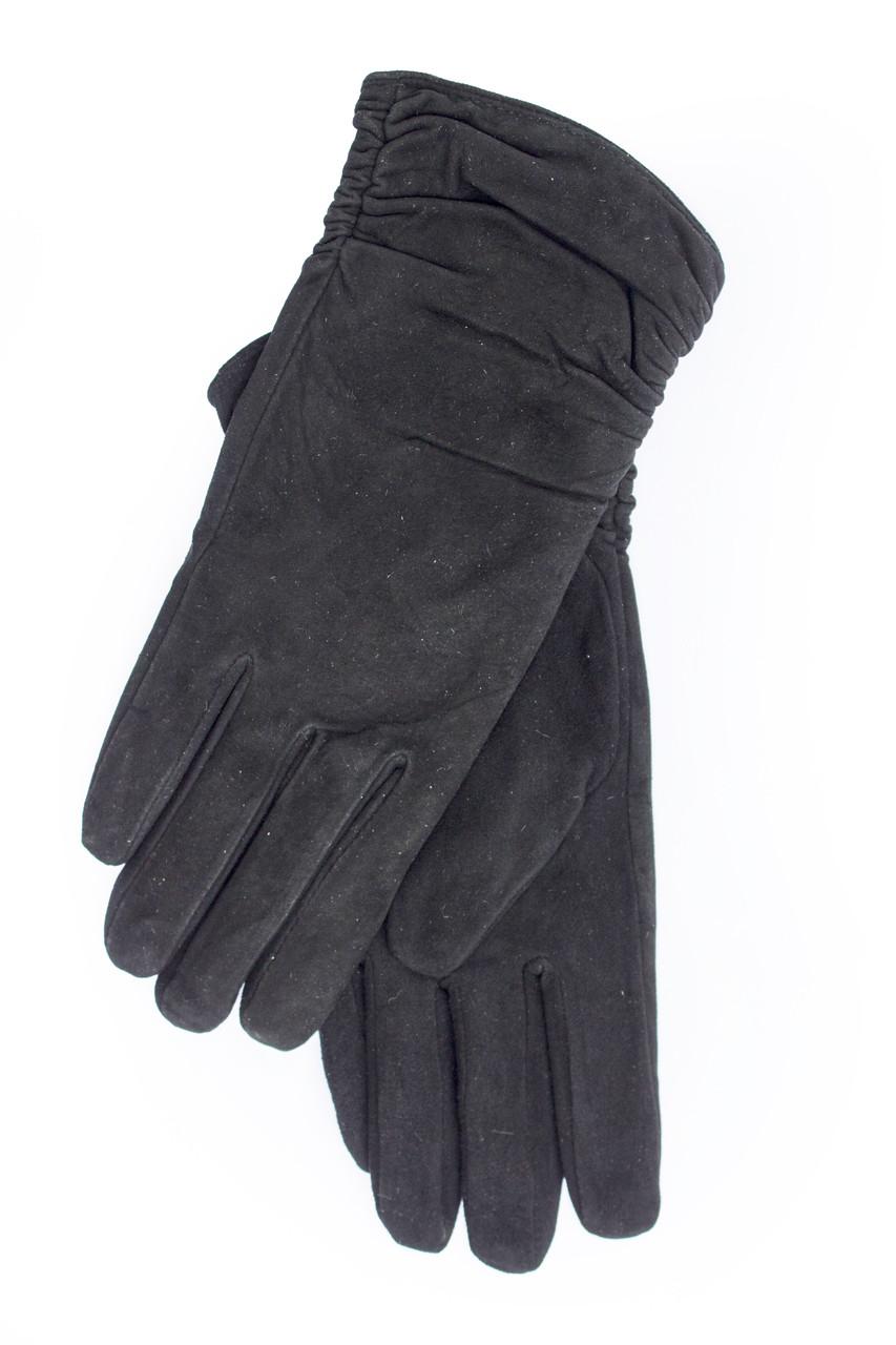 Женские замшевые перчатки  740s3