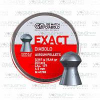 Пули JSB Diabolo Exact 0,547 г 200 шт/уп 4,5 мм
