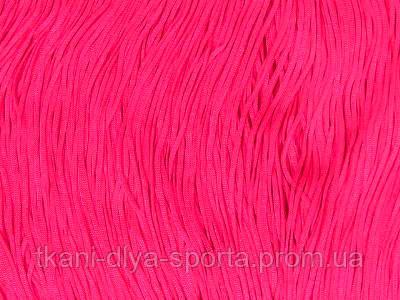 Бахрома стрейч Сhrisanne ярко-розовая fluo 15 см (pink fizz)