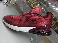 Кроссовки Nike Air Max бордо