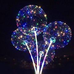 Воздушный светодиодный шар круглый