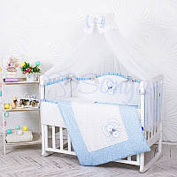 Комплект детского постельного белья Lucky star голубой, фото 1