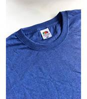 Мужская футболка классическая Fruit of the Loom  Valuweight T 61-036-0 Fruit of the Loom, L(50-52), Марокко, Синий ретро