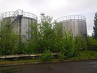 Зачистка резервуаров из-под мазута