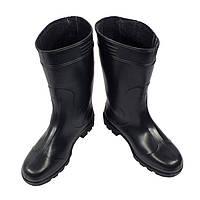 Сапоги мужские резиновые черные, фото 1