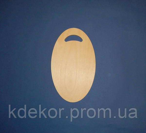Досточка Овал (большой) заготовка для декупажа и декора