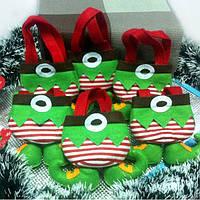 Новогодние штанишки Эльфа, креативная сумка для новогодних подарков