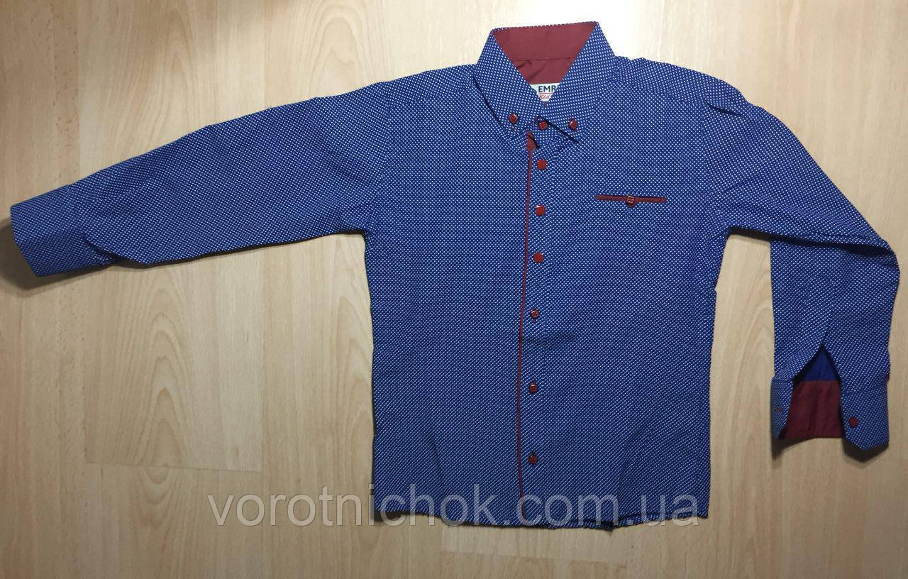 Детская рубашка для мальчиков 5-9 лет